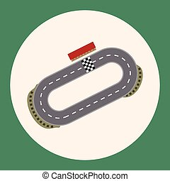 f1 racing theme elements