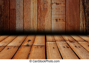 Texture of over dark wood