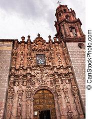 Templo de San Francisco Facade Church San Miguel de Allende...