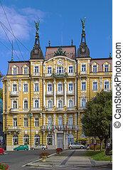 Marianske Lazne, Czech republic - street in Marianske Lazne...