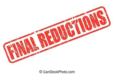 FINAL REDUCTIONS red stamp text