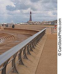 Promenade ,Blackpool,UK