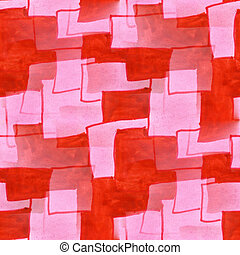 Seamless, negócio, vermelho, Cor-de-rosa, quadrado,...