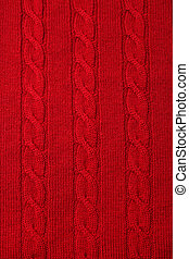 Knitted fabric - woolen texture