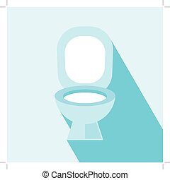 Flush Toilet Icon. Wc ,Toilet sign,vector. Flush Toilet Icon...