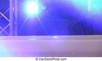 Dazzling laser lights