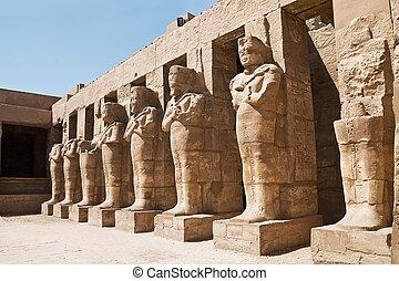Statyer, av, Faraoner,