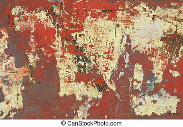 distressed paint background - distressed paintwork on a...