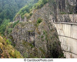 Transfagarasan Dam, Romania, Eastern Europe