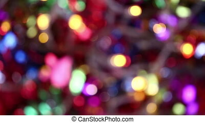 blurry light colorful  background for christmas