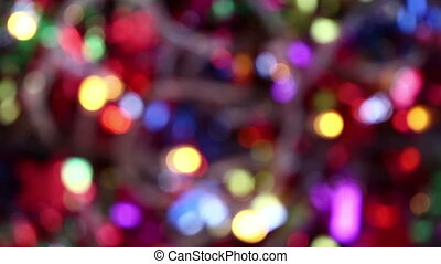 blurry light colorful  background