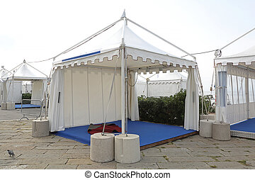 Exhibition Tent - White Canopy Tent for Exibition Event and...