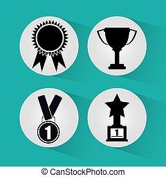 Champions league design - Champions league concept with...