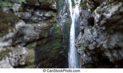 Waterfall at Savica Gorge, Slovenia