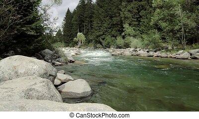 Boka river view, Slovenia