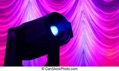 projector diversity, modern disco technology - projector...