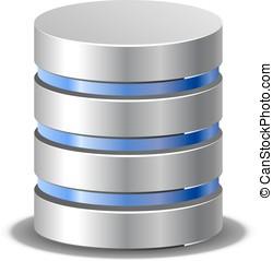 Network backup icon - Database icon Network backup...
