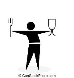 fastfood symbol