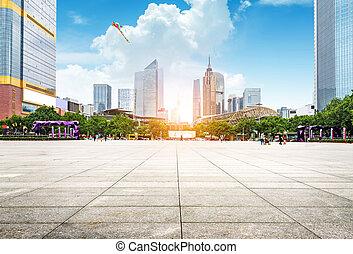 urbano,  Guangzhou, paisaje