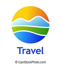 Travel - Logo for tourist industry: hotel, travel agency,...