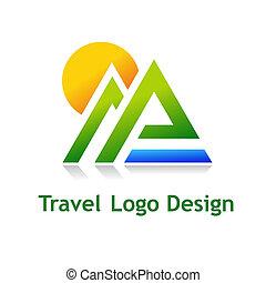 TravelDesign - Logo for tourist industry: hotel, travel...