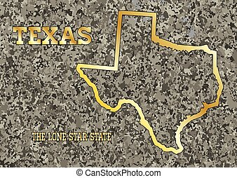 Texas in Stone