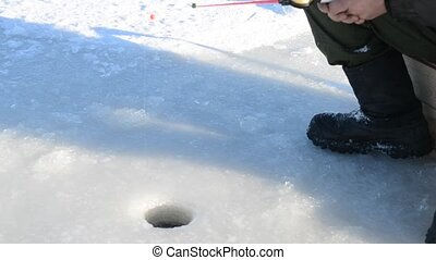 Winter fishing Fishing for winter fishing rod