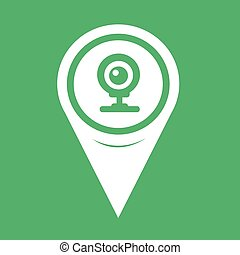 Map Pointer webcam icon