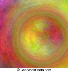 Circular Form Color Abstract