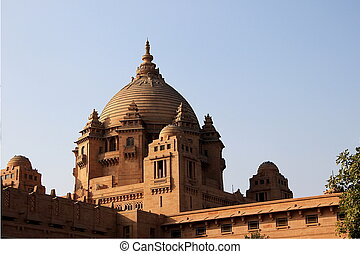 Central Dome of Umaid Bhavan - Closer view of central dome...