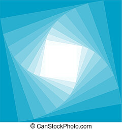 Modern blue and white abstract squares - Abstract vector...
