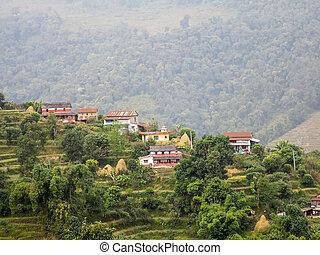 Himalayan Mountain Village