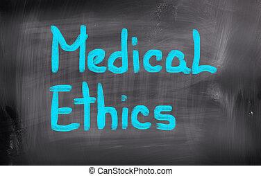 médico, conceito, ética
