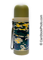 a camoflage vacuum cup