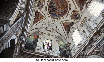 sequence of san domenico church - multiple shots of San...