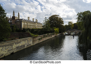 Cambridge, England - Cambridge cityscape, UK