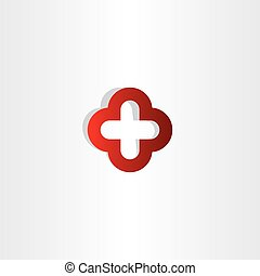 red cross plus logo sign medical