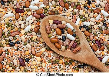 Legumes - texture