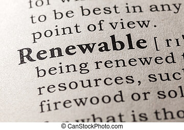 renewable - Fake Dictionary, Dictionary definition of the...