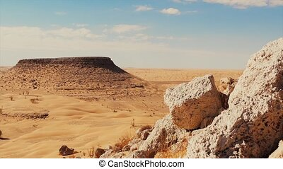 Sahara Desert, Tunisia - Tunisia, View of the Tembaine...