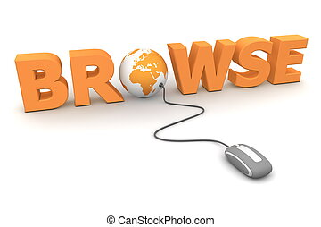 Browse Around - Orange