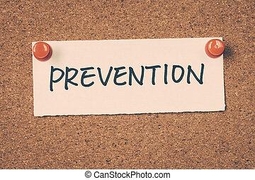 prevenção,