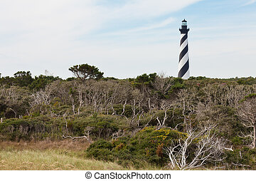 Cape Hatteras Lighthouse OBX North Carolina NC USA - Cape...