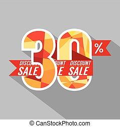 Discount 30 Percent Off.