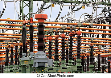 High voltage switch