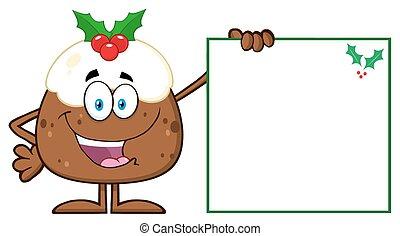 Jolly Christmas Pudding