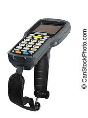 Barcode scanner - Handheld laser barcode scanner reader...