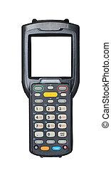 Barcode scanner - Handheld laser barcode scanner reader with...