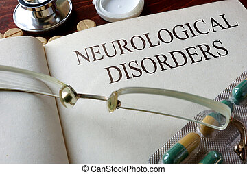 neurological disorders - Book with diagnosis neurological...