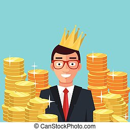 Wealthy businessman